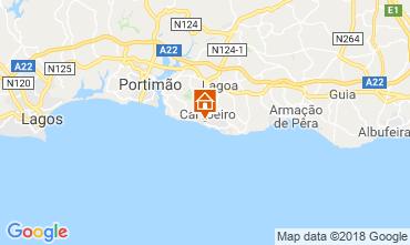 Karte Carvoeiro Appartement 86574
