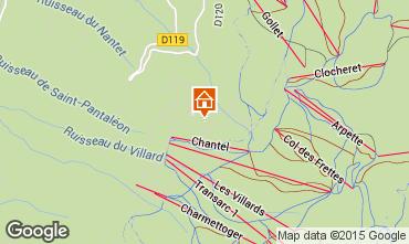 Karte Les Arcs Appartement 101056