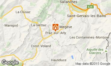 Karte Megève Appartement 85903