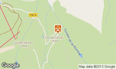 Karte Courchevel Appartement 1096
