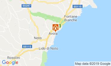 Karte Avola Villa 54190