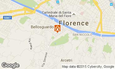Karte Florenz Appartement 62499