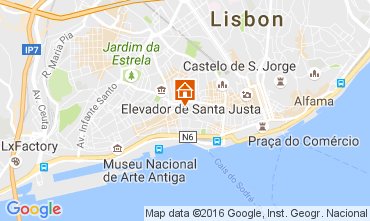 Karte Lissabon Haus 37871