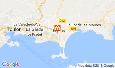 Karte Hyères Villa 113023