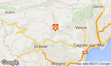 Karte Cannes Villa 92568