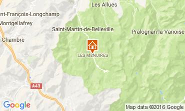 Karte Les Menuires Appartement 91167