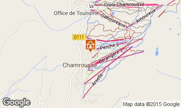 Karte Chamrousse Appartement 770