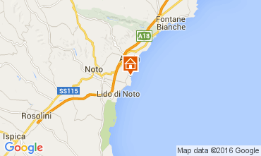 Karte Noto Villa 104955