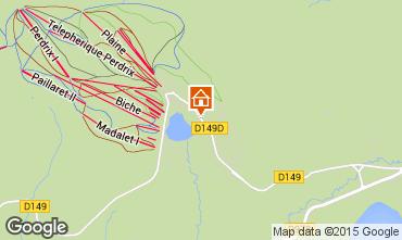 Karte Besse - Super Besse Chalet 3792