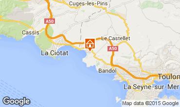 Karte Saint Cyr sur Mer Appartement 78331