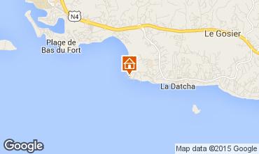 Karte Gosier (Guadeloupe) Studio 8007