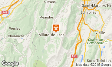 Karte Villard de Lans - Corrençon en Vercors Chalet 3640