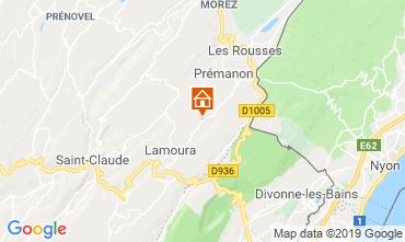 Karte Les Rousses Chalet 89314