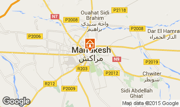Karte Marrakesch Fremdenzimmer 45751