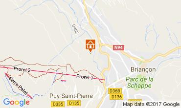 Karte Serre Chevalier Haus 90691