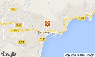 Karte Le Lavandou Villa 89455