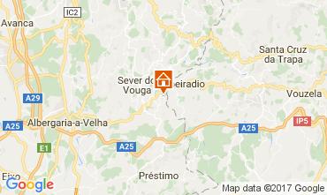 Karte Sever do Vouga Villa 90377