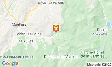 Karte La Plagne Appartement 102107