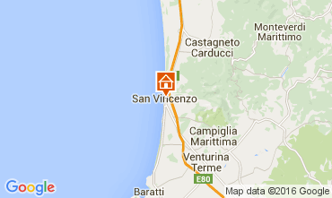Karte San Vincenzo Appartement 104398