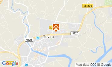 Karte Tavira Appartement 114314