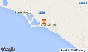 Karte Lido Marini Appartement 35867