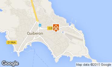 Karte Quiberon Appartement 29849