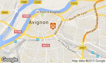 Karte Avignon Appartement 94529