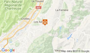 Karte Les Sept Laux Studio 113096