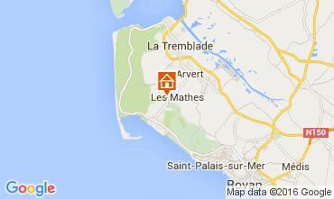 Karte La Palmyre Mobil-Home 99916