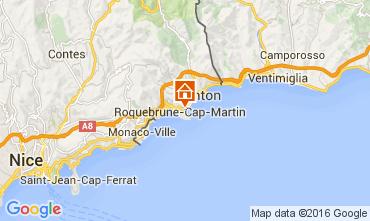 Karte Roquebrune Cap Martin Appartement 104967