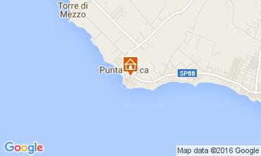 Karte Punta Secca Appartement 103702
