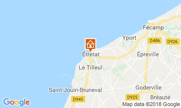 Karte Etretat Haus 7731