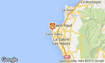 Karte Saint Gilles Bungalow 59904