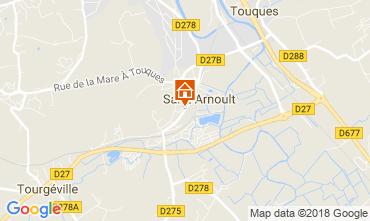 Karte Deauville Mobil-Home 114888