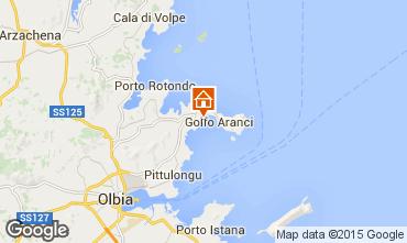 Karte Golfo Aranci Appartement 83851
