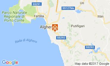 Karte Alghero Villa 65699