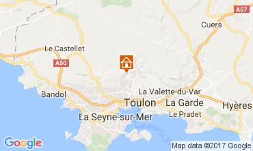Karte Toulon Haus 111506