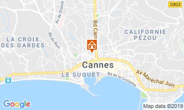 Karte Cannes Appartement 40957