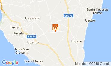 Karte Specchia Villa 113782