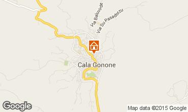 Karte Cala Gonone Appartement 29191