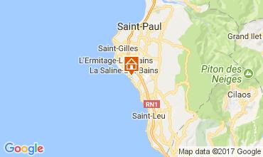 Karte La Saline les Bains Appartement 112063