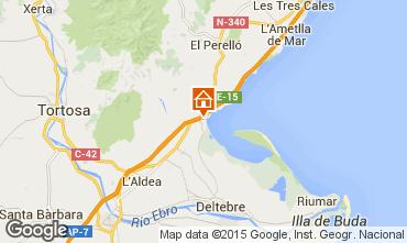 Karte L'Ampolla Villa 63018