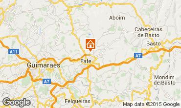 Karte Guimarães Ferienunterkunft auf dem Land 50906