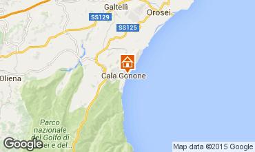 Karte Cala Gonone Appartement 96091