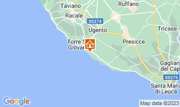 Karte Ugento - Torre San Giovanni Appartement 108077