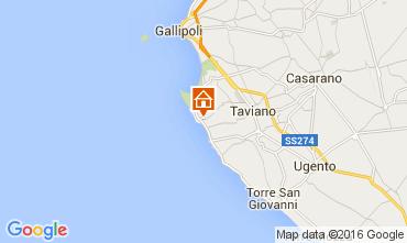 Karte Gallipoli Villa 82008