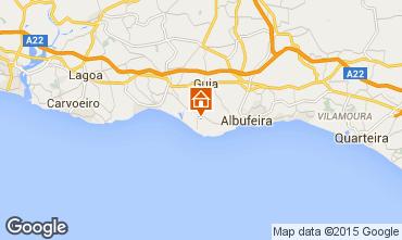 Karte Albufeira Villa 91369