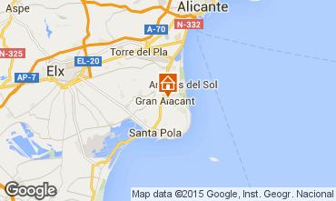 Karte Alicante Villa 77982
