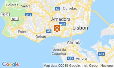 Karte Lissabon Appartement 86633