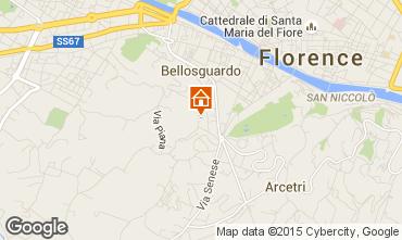 Karte Florenz Appartement 72161